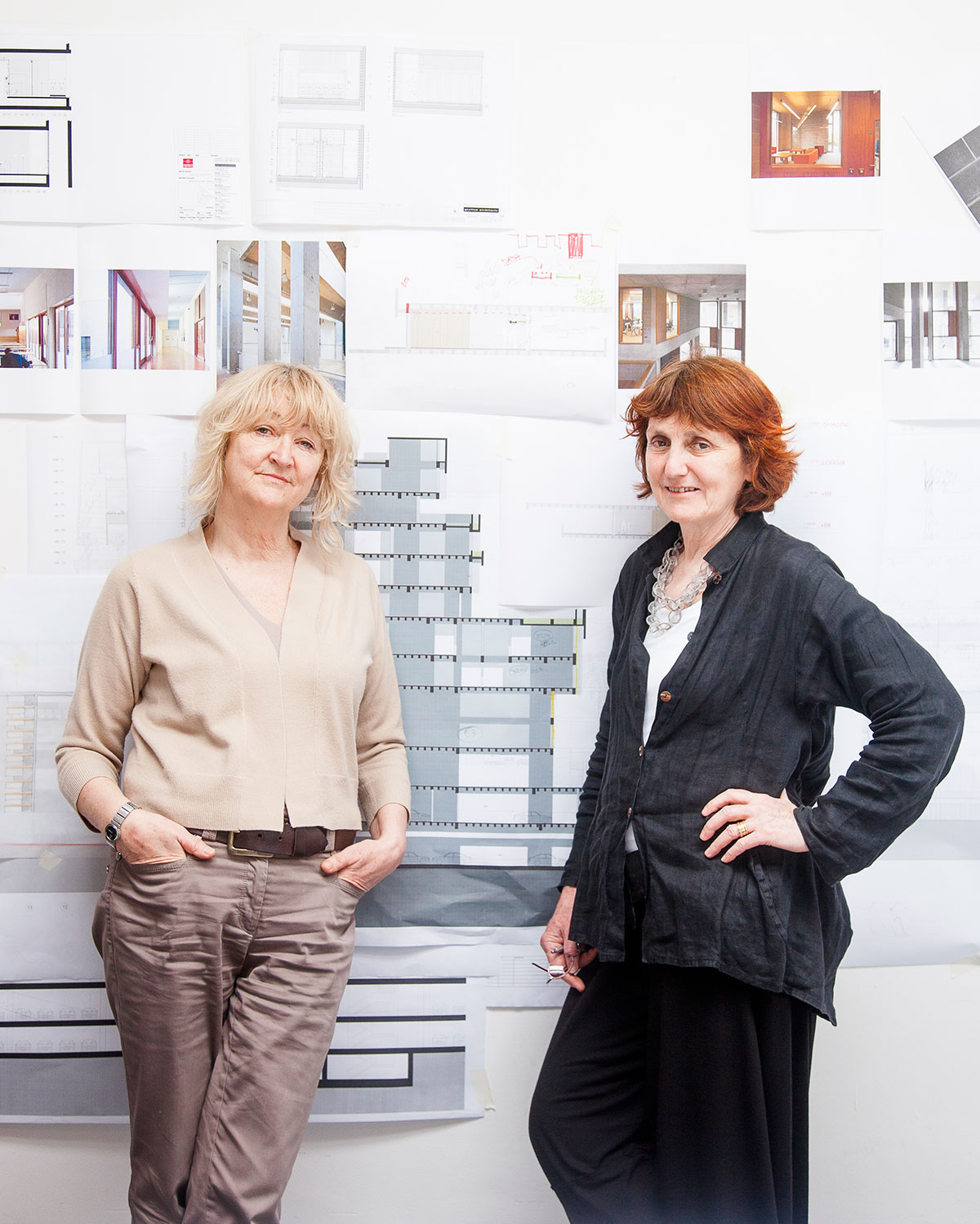 Yvonne Farrell, left, and Shelley McNamara are the 2017 Thomas Jefferson Foundation Medalists in Architecture