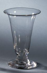 Shorter Plain Jelly Glass. Thomas Jefferson Foundation, Inc.