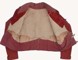 Waistcoat open to view lining. Thomas Jefferson Foundation, Inc.