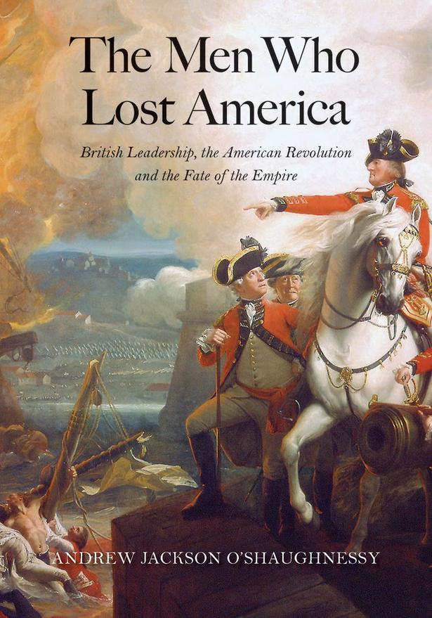 Cover of the American edition of The Men Who Lost America