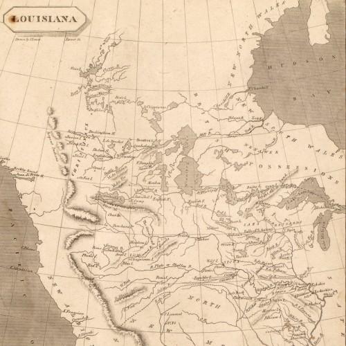 Louisiana Purchase Outline Map, The Louisiana Purchase, Louisiana Purchase Outline Map