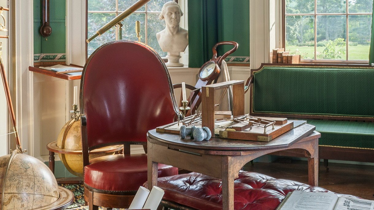 Super Drudging At The Writing Table Thomas Jeffersons Monticello Gmtry Best Dining Table And Chair Ideas Images Gmtryco