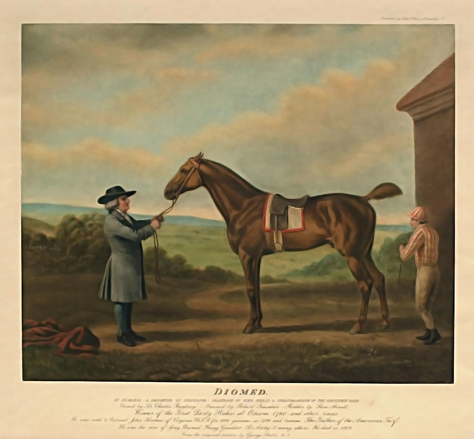 <strong>Diomed</strong> by George Stubbs, 19th century.