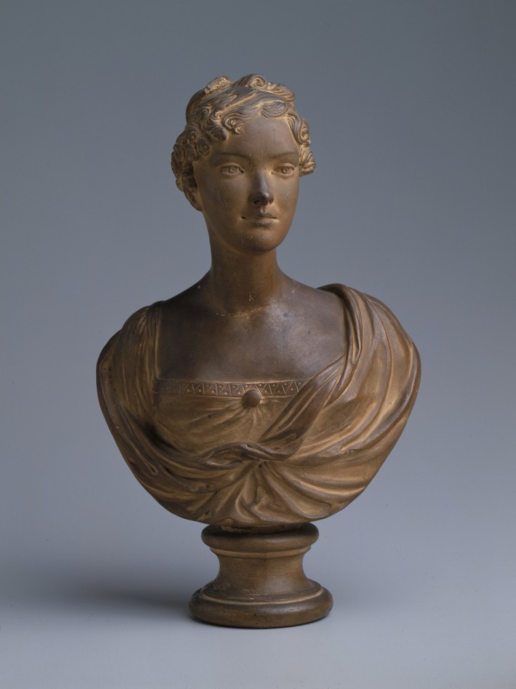 Bust of Cornelia Jefferson Randolph