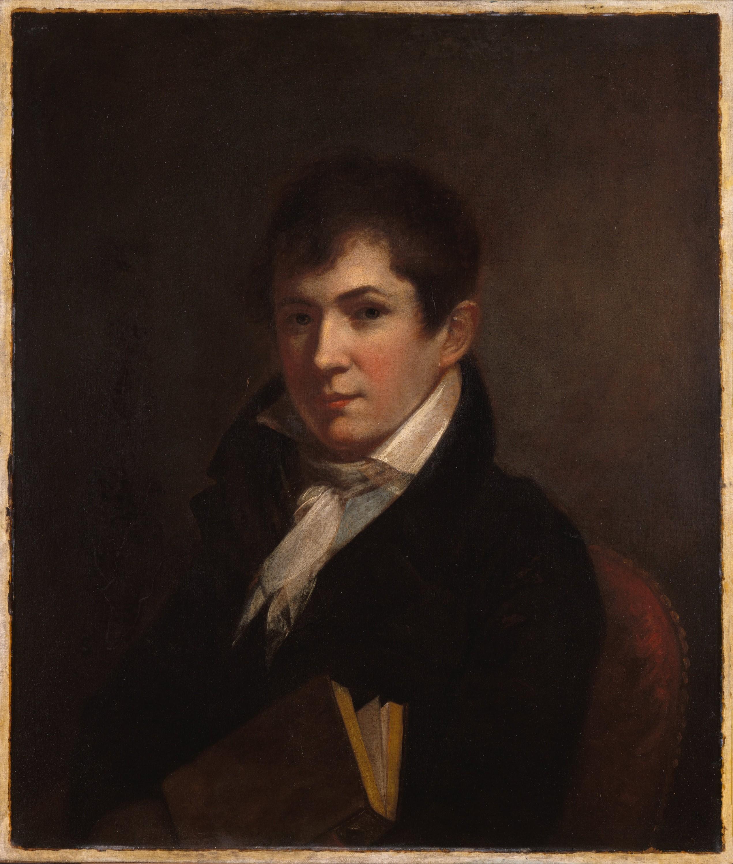 Thomas Jefferson Randolph. Portrait by Charles Willson Peale.