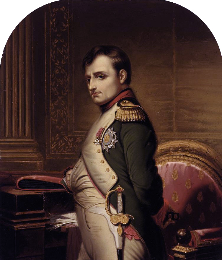 Napoleon Bonaparte by Paul Delaroche